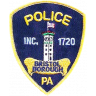 Bristol Borough Police Department Badge
