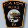 New Hope Borough Police Department Badge