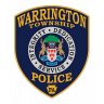 Warrington Township Police Department Badge