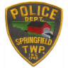 Springfield Township Police Department Badge