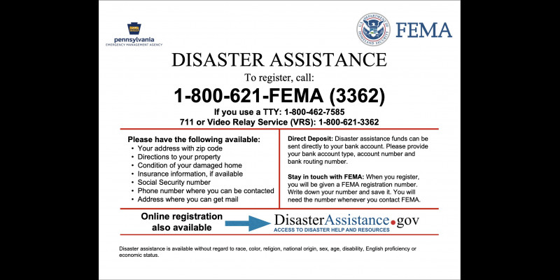 Image for FEMA Inspectors in the Area