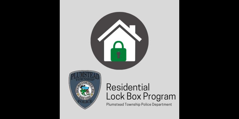 Image for Residential Lock Box Program