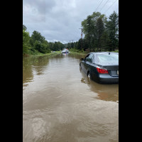 BROADCAST: Upper State Road flooded